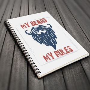 My Beard My Rules Notebook