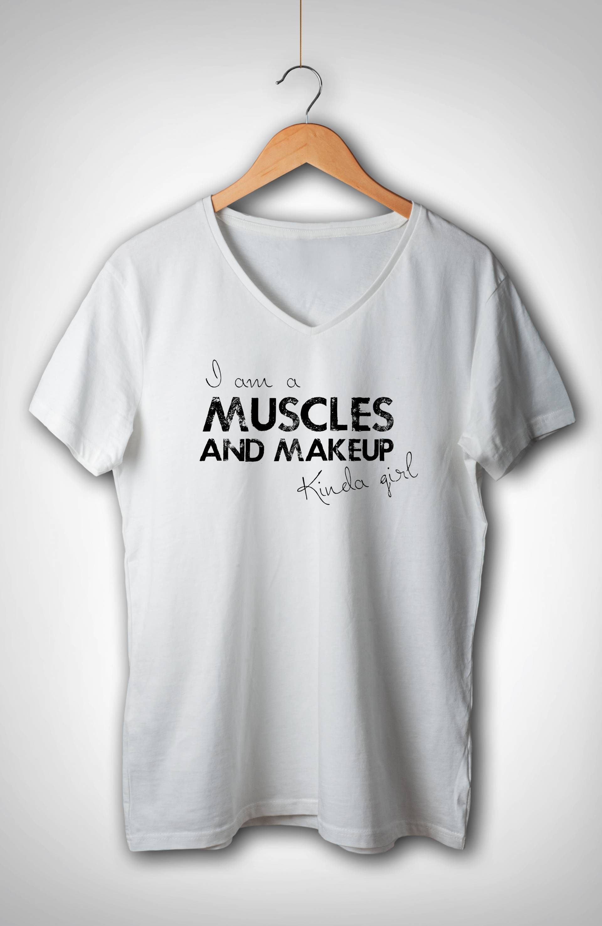 Muscles & Makeup Girl