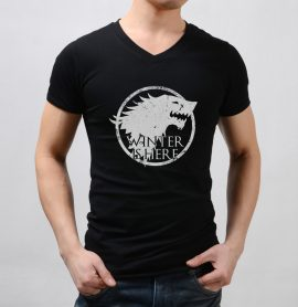 Game of Thrones Winter Is Here Sigil Men T-Shirt
