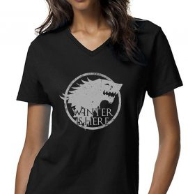 Game of Thrones Winter Is Here Sigil Women T-Shirt