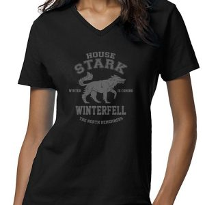 Game of Throne House Of Stark Women T-Shirt