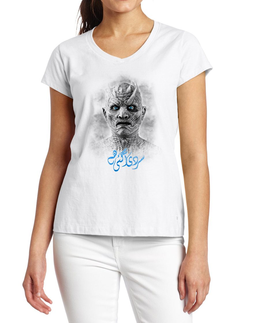 Game of Thrones Sardi Agai Hai Women T-Shirt